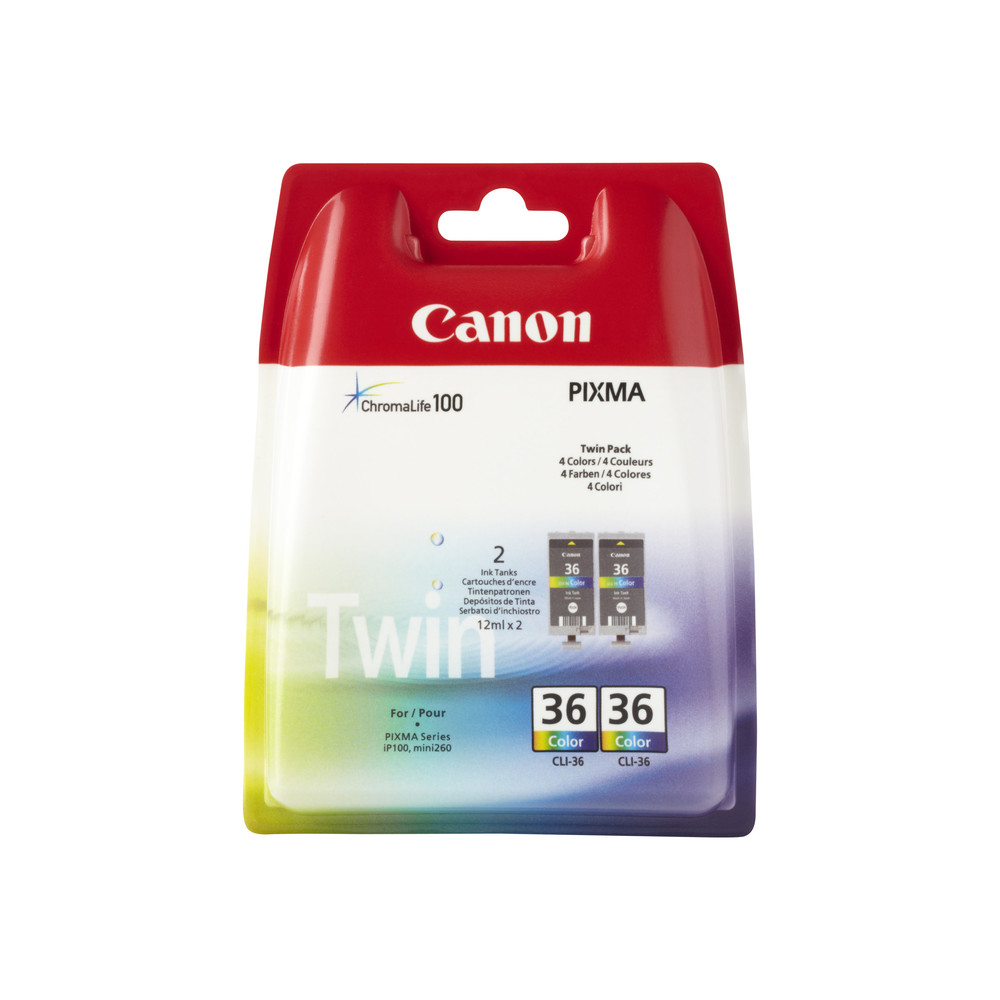 Canon Ink Cart 2x CLI-36CO