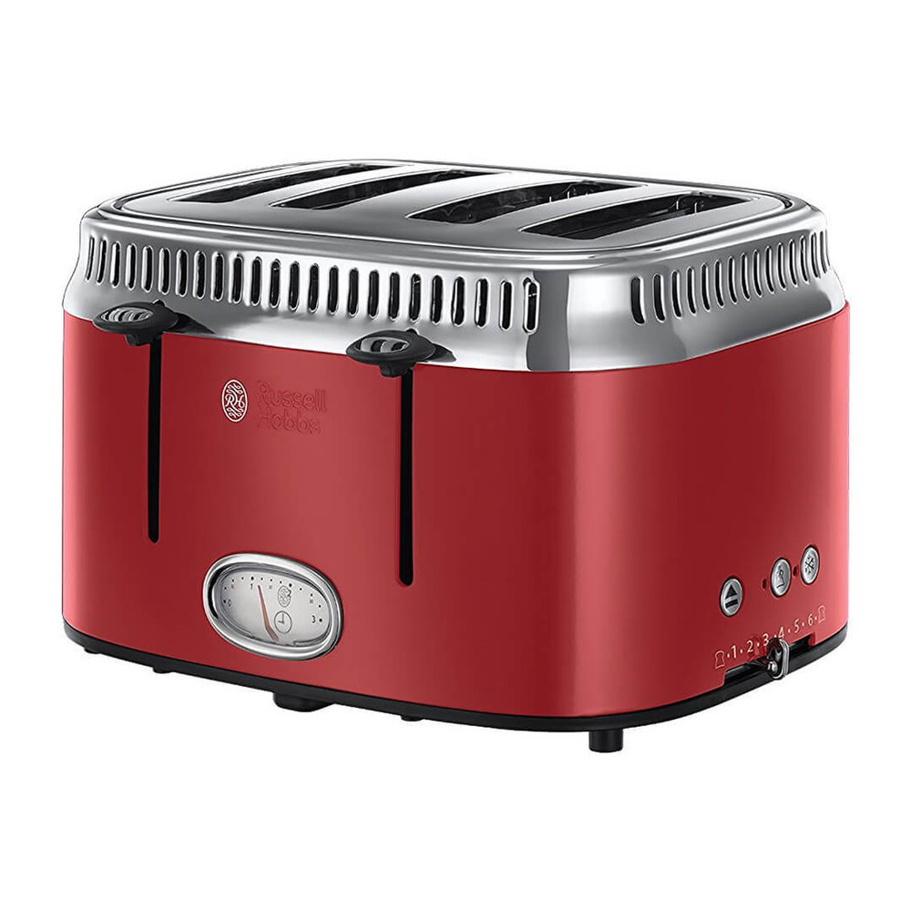 Russell Hobbs Retro Toaster 21690-56 rot