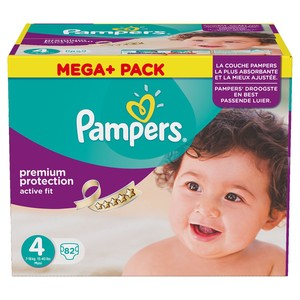 PAMPERS Windeln Active Fit Maxi Gr. 4 Mega+ Pack