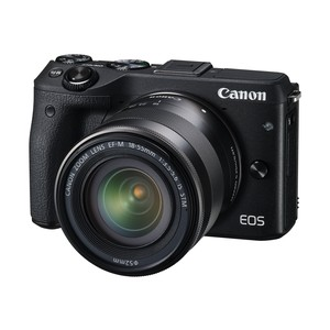 CANON EOS M3 + EF-M 18-55-mm-IS-STM-Objektiv