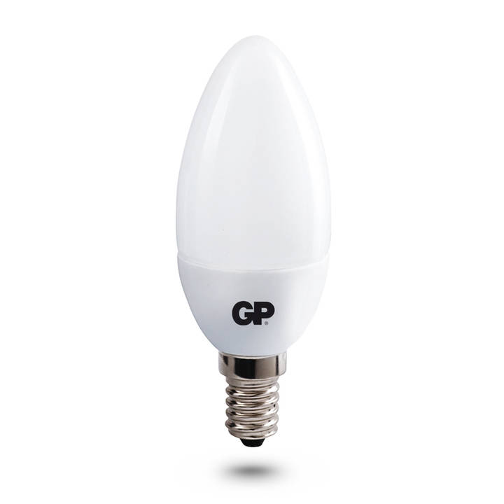 GP LED Mini Kerze, 4W, E14, 2200K, 250 L