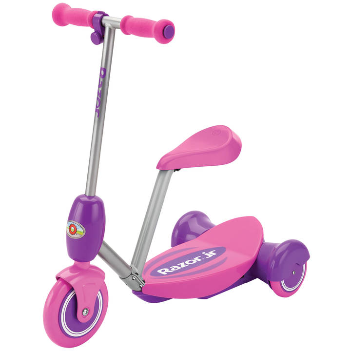 Lil Es Electric Scooter Seated - Pink Pr