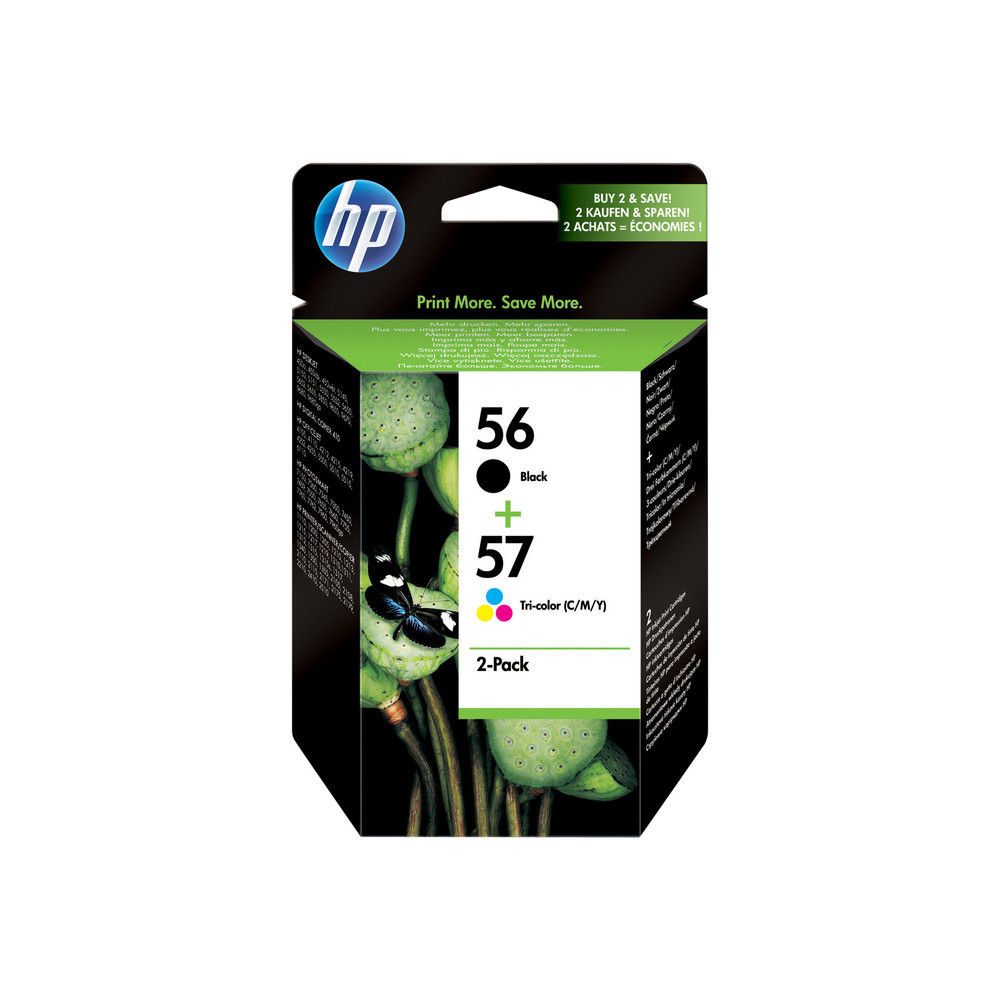 HP Combopack Nr. 56 + 57 - (SA342AE) All