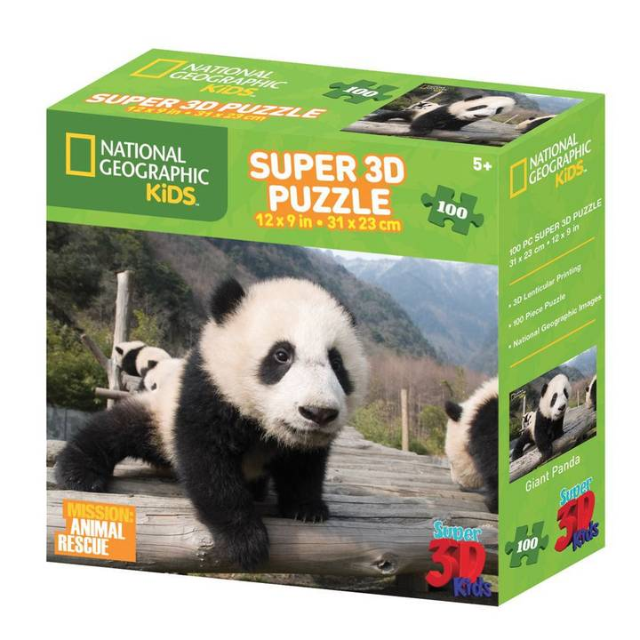 NATIONAL GEOGRAPHIC 3D Puzzle Panda
