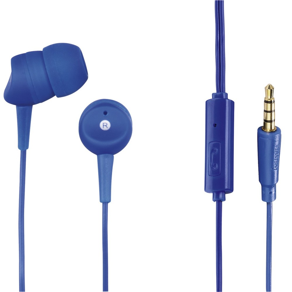 In-Ear-Headset Basic, Blau