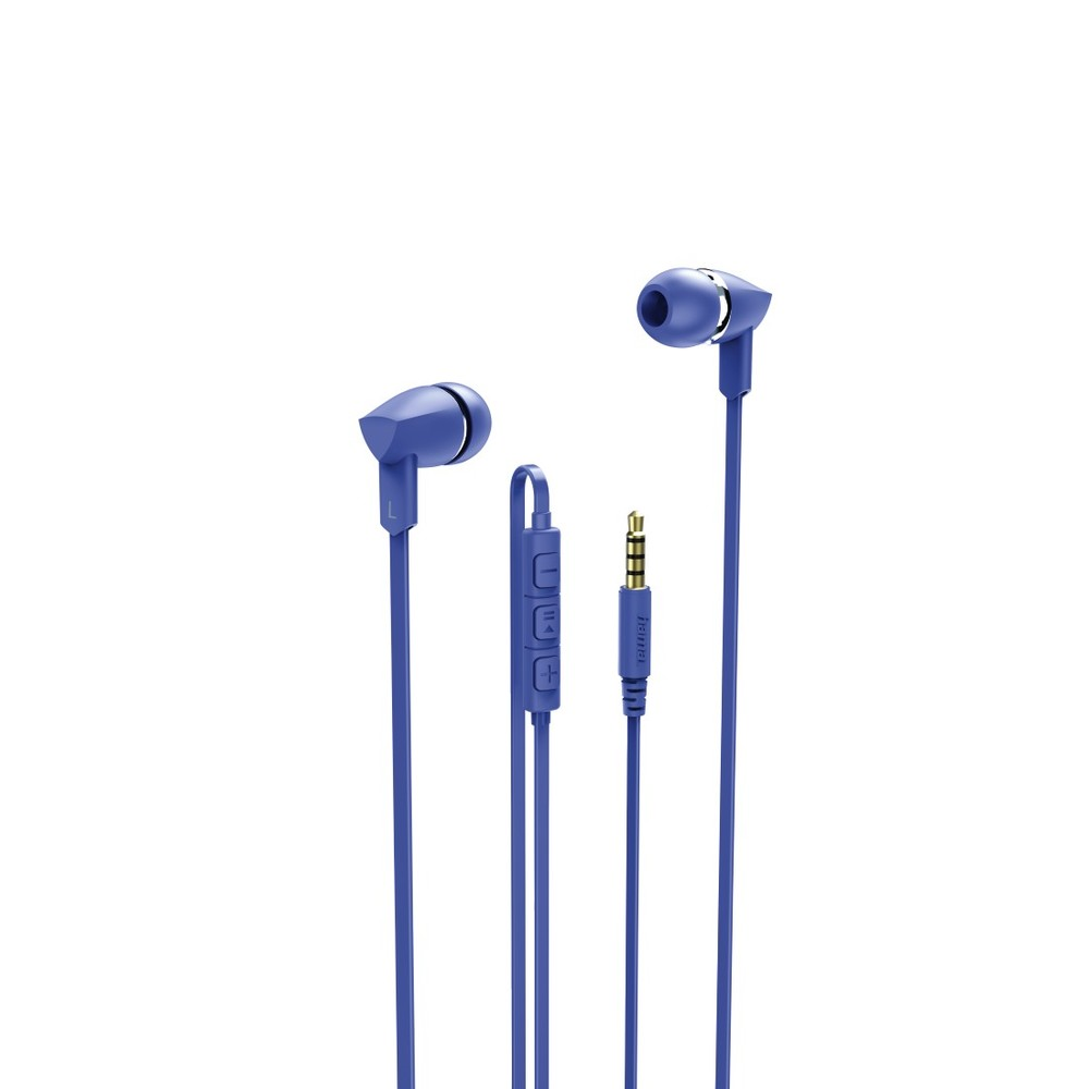 In-Ear-Headset Basic+, Blau