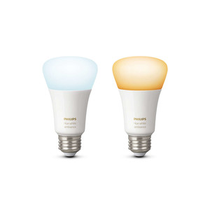PHILIPS Hue White Ambiance Doppelpack 9.5W E27