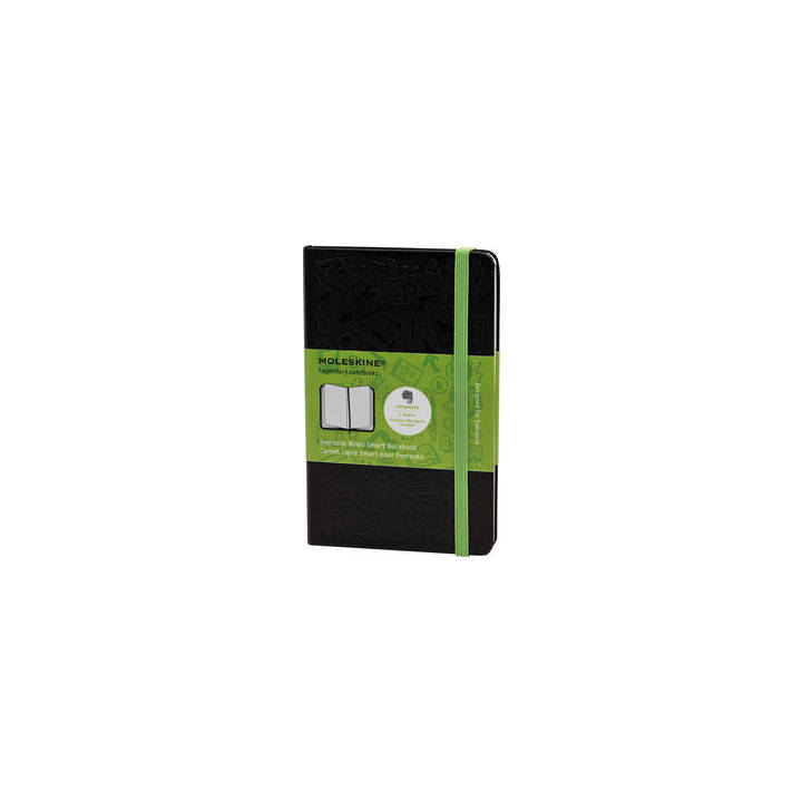 MOLESKINE Notebook Evernote Noir Couverture rigide