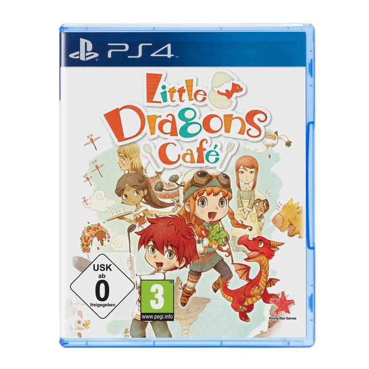 DIVERSE GAMES Little Dragons Cafe, PS4
