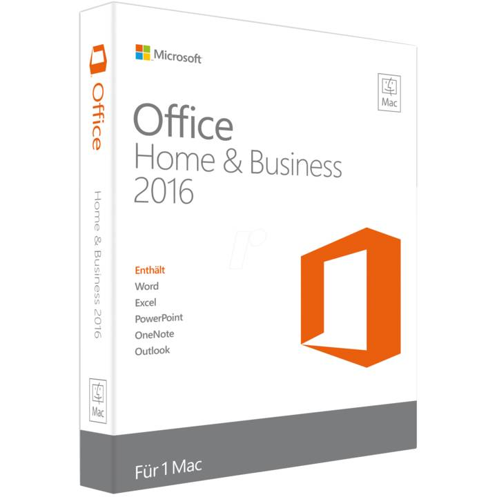 Microsoft Office MAC Home and Business 2