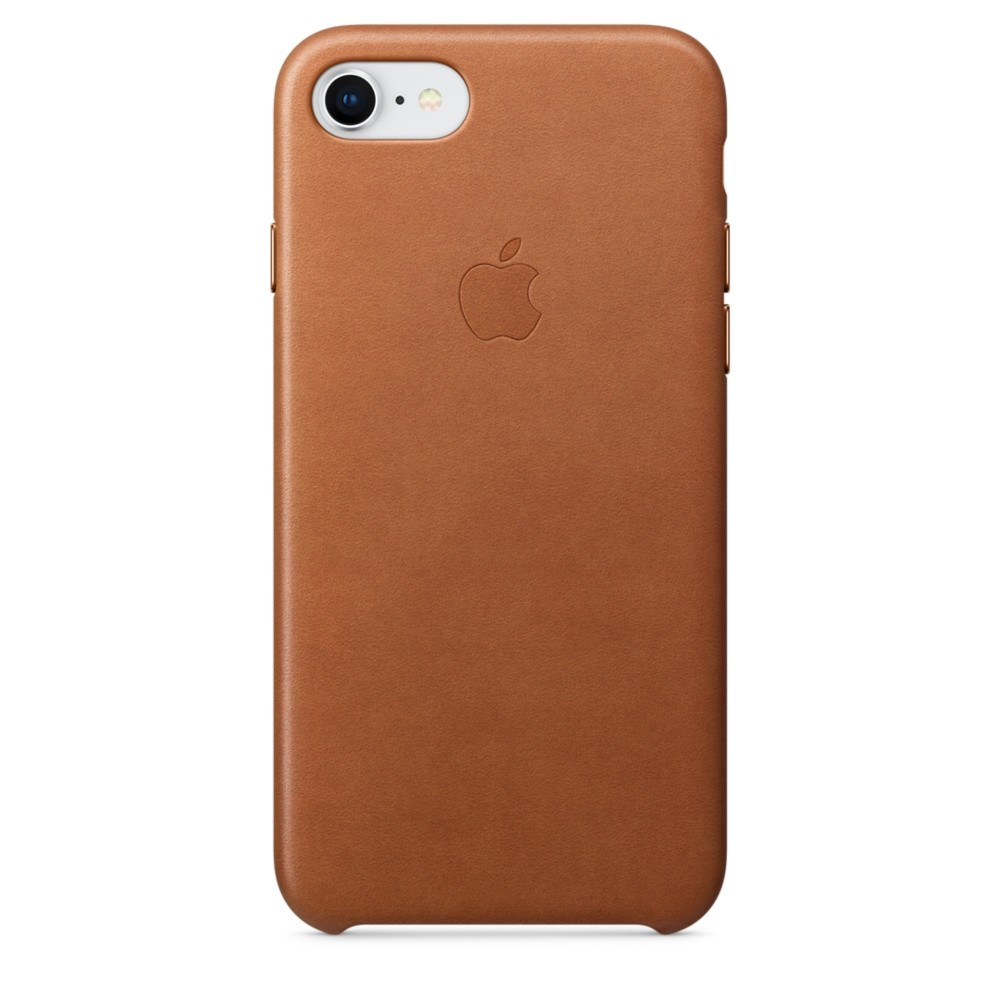 APPLE iPhone 8 / 7 Leather Case - Saddle