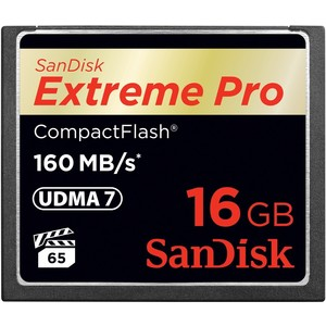 SANDISK Extreme Pro Compact Flash 16 GB
