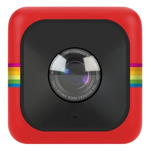 POLAROID Lifestyle Actioncam Cube + Red