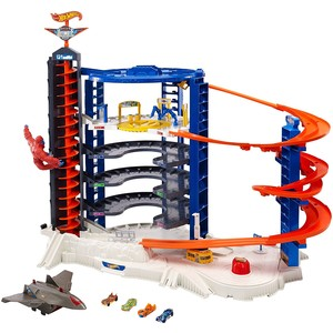 HOT WHEELS Super Megacity Parkgarage