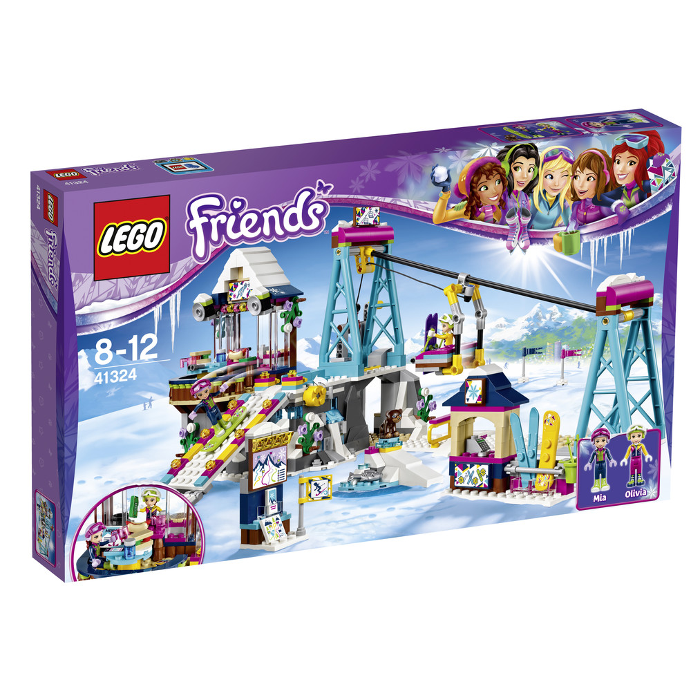 LEGO Friends Skilift im Wintersportort (41324)