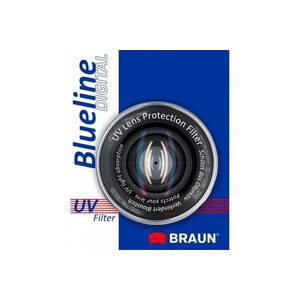 BRAUN Blueline UV Filter, 46 mm
