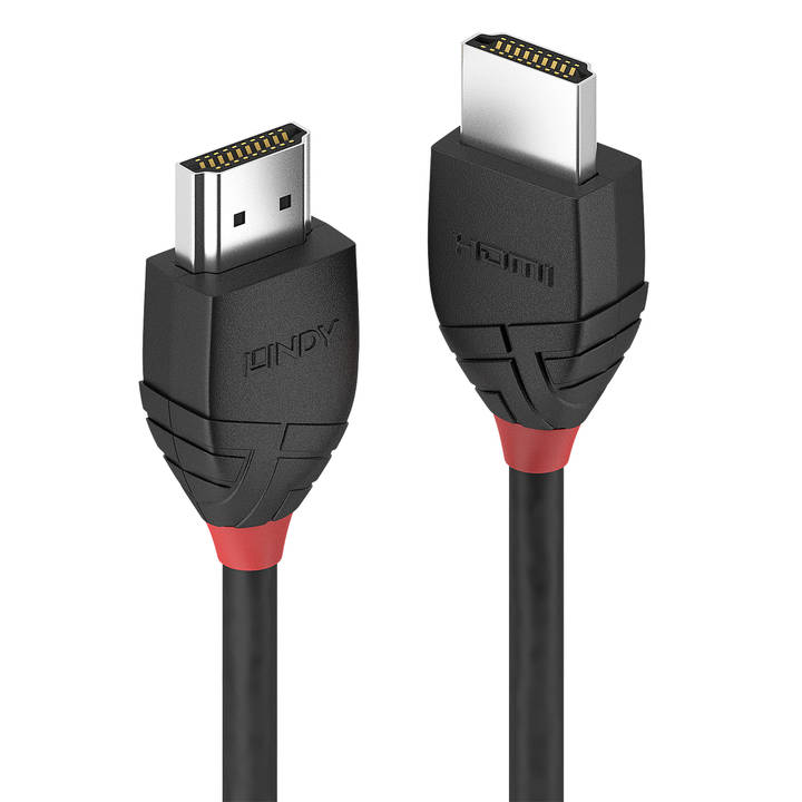 LINDY 0.5m High Speed HDMI Cable Black L