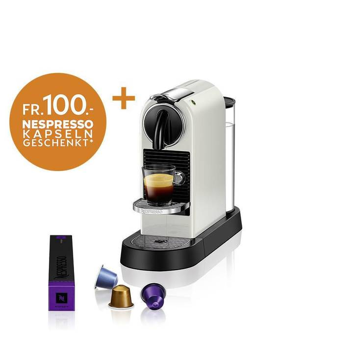 DELONGHI Nespresso Citiz White