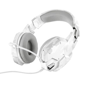 TRUST Over-Ear Headset GXT 322W Gaming White Camouflage