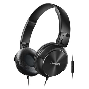 PHILIPS On-Ear Kopfhörer SHL3065BK/00 Black