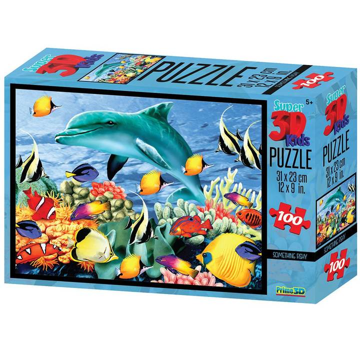 NATIONAL GEOGRAPHIC Puzzle 3D sous-marin, 100 pcs.