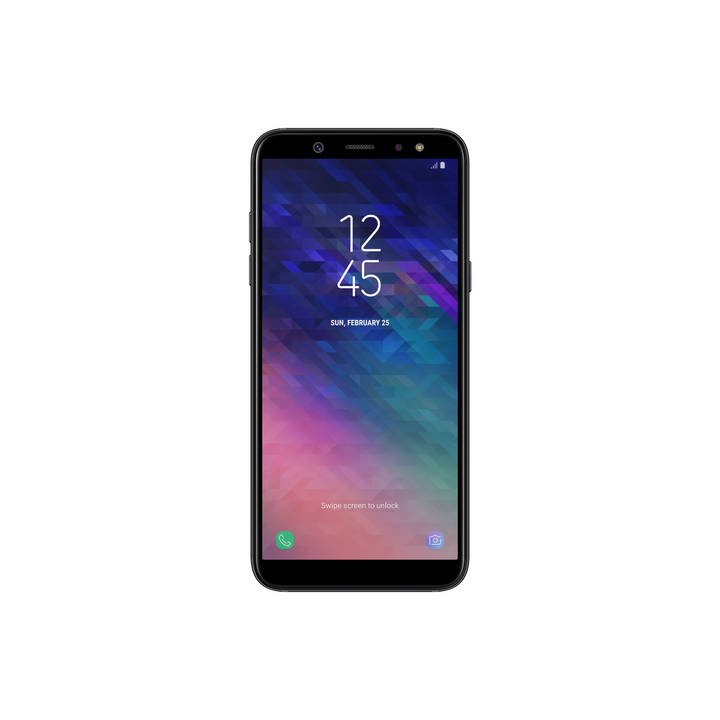 SAMSUNG Galaxy A6 (2018), 32 GB, Dual-SIM, Black