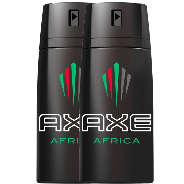 AXE Deo Spray Africa 150 ml DUO 2x 150 m