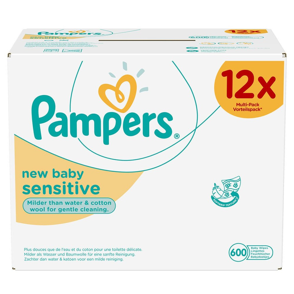 PAMPERS Feuchttücher New Baby Sensitive Vorteilspackung