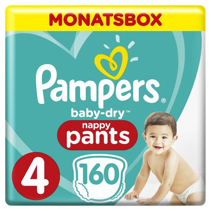 Pampers Baby Dry Pants Gr.4 Maxi 9-15kg