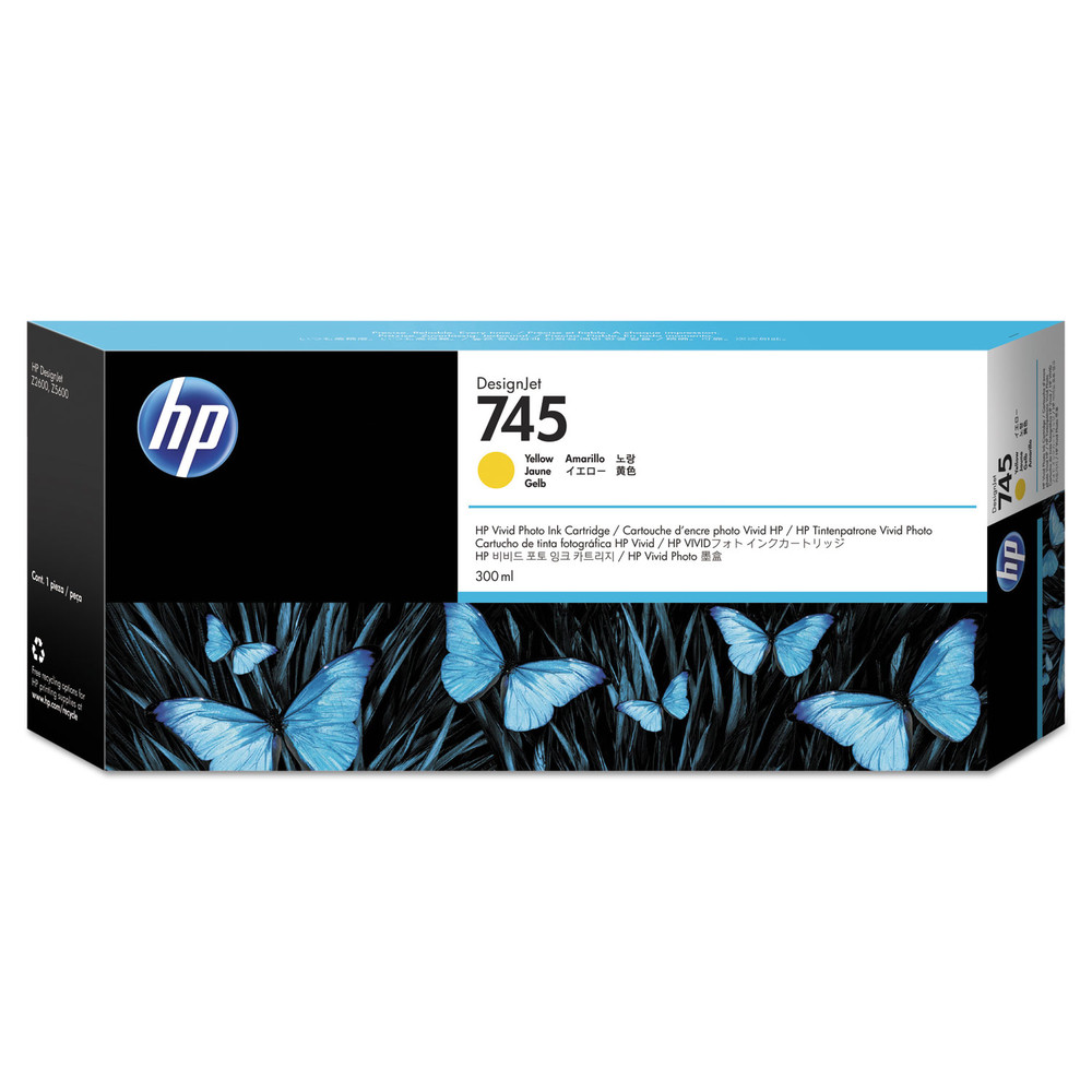 HP Ink Cartr., 745 yellow