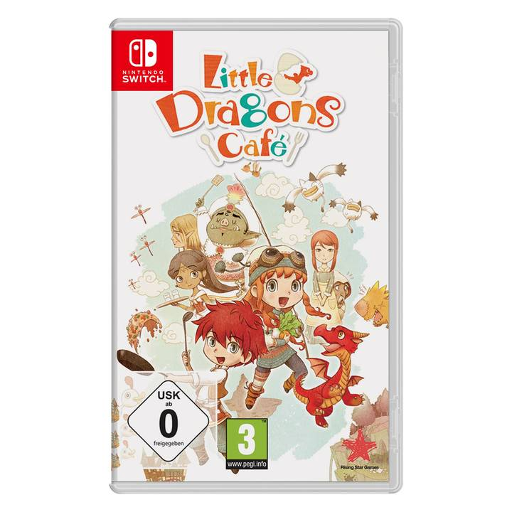 GAME Little Dragons Cafe