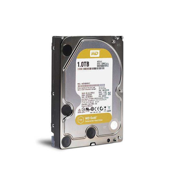 WD Digital Gold, 1 TB, Serial ATA III