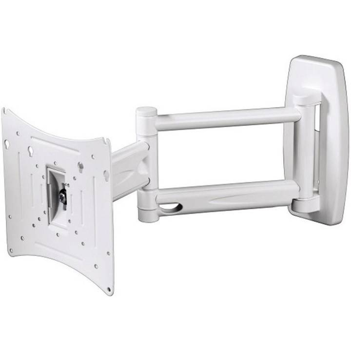 "HAMA ""Ultraslim"" FULLMOTION TV Wall Bracket 10"" - 37"""