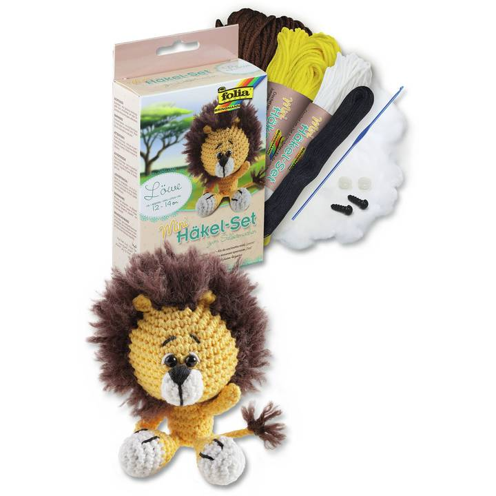 FOLIA Mini Ensemble Crochet Lion