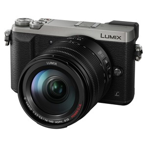 PANASONIC DMC-GX80 Silver Lumix G Vario 14-140 mm