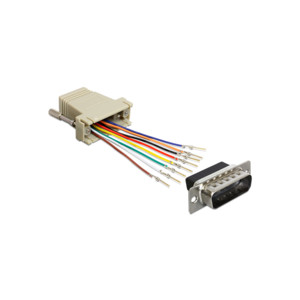 DELOCK 15-Pin/RJ-45 Adapter Montagesatz