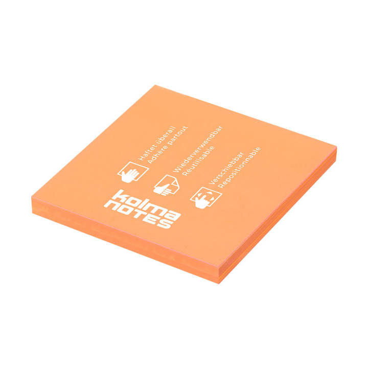 KOLMA NOTES 76x76mm 1x100 Blatt orange