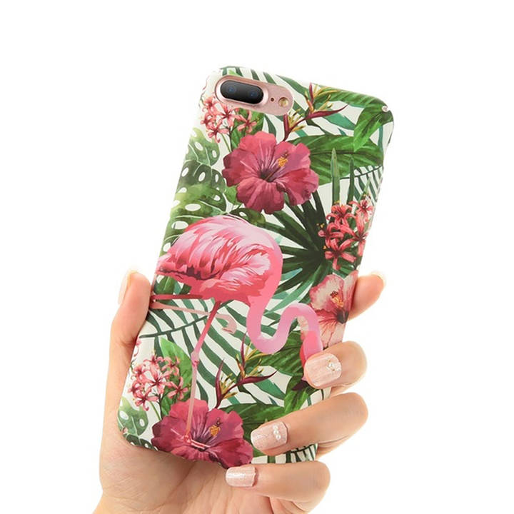 EG FLOVEME Backcover für Apple iPhone 6 6S Plus - Flamingo_6