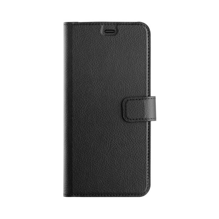 XQISIT Book Cover Slim Wallet Galaxy A6+ 2018 Black