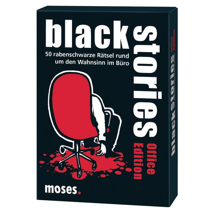 MOSES VERLAG black stories Office Edition