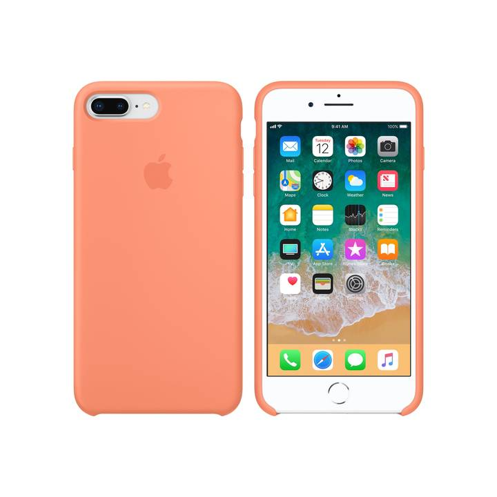 Apple iPhone 7/8 Plus Silicone Case Peac
