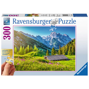 RAVENSBURGER Puzzle Bergwiese 300 Teile