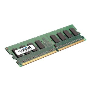 CRUCIAL 2 GB, DDR2, DIMM 240-Pin