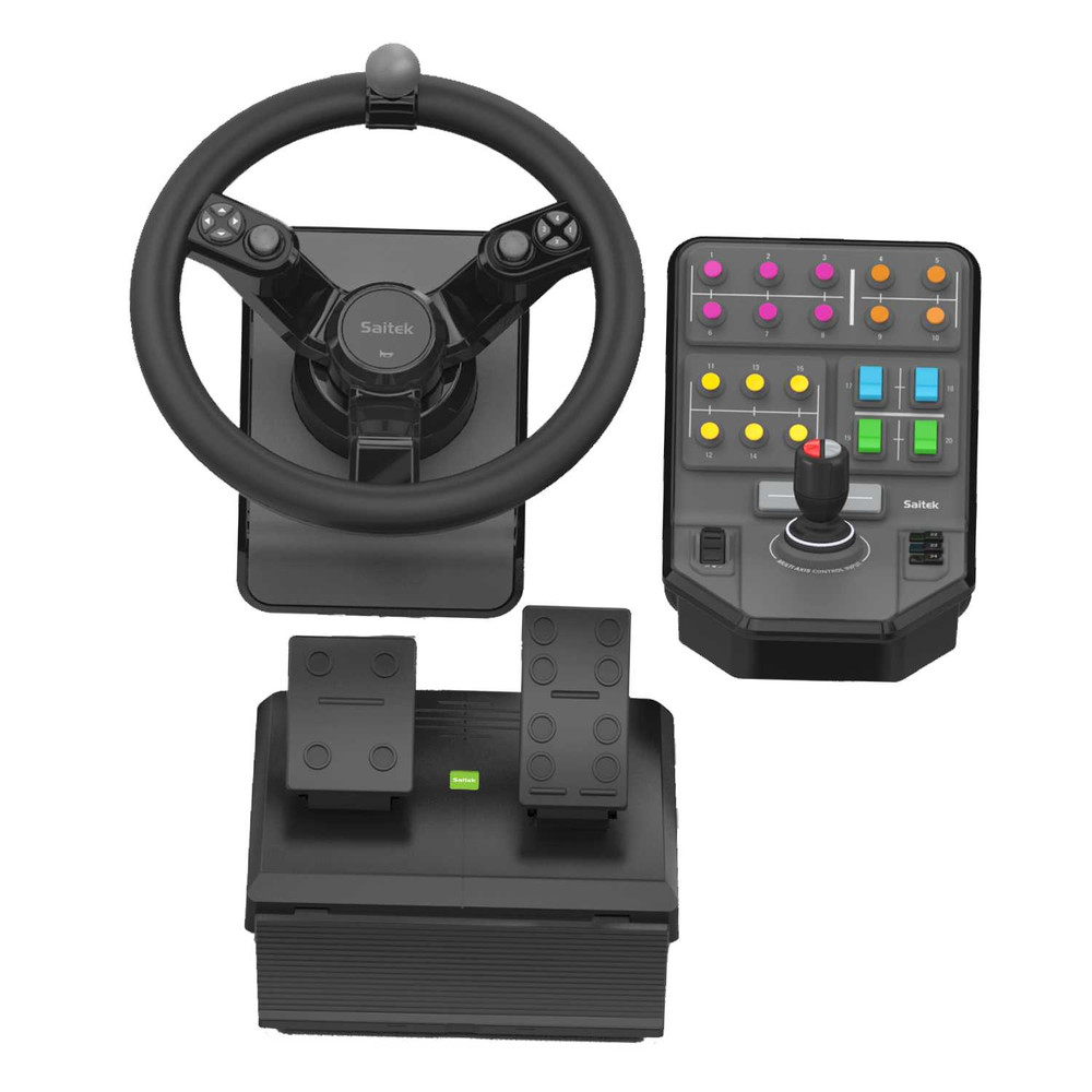 SAITEK Heavy Equipment Precision Control System