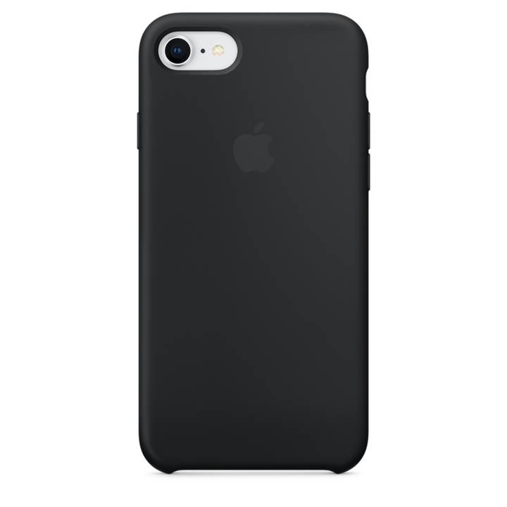 APPLE Silikon Case iPhone 8 / 7 Black