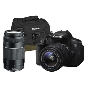 CANON EOS 700D 18-55 mm & 75-300 mm