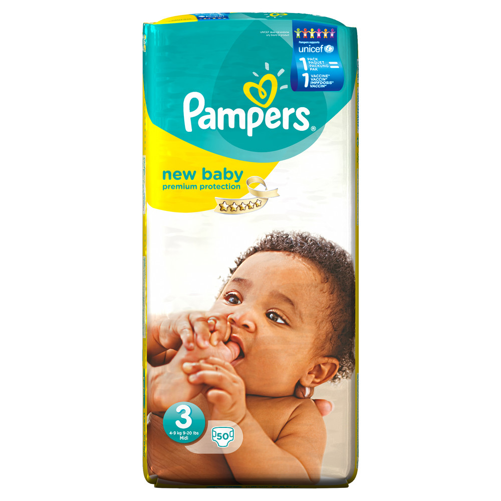 PAMPERS Windeln Premium Protection Gr. 3