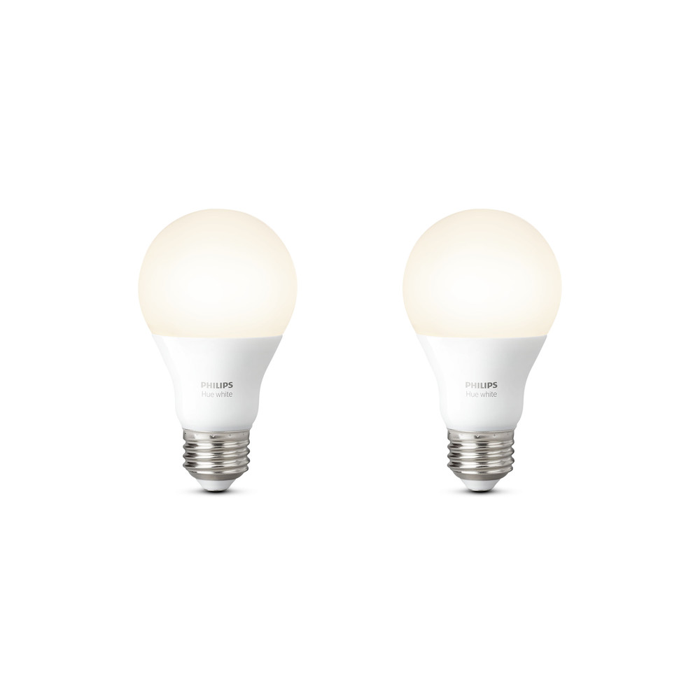 PHILIPS Hue Double Pack Blanc 9.5W E27