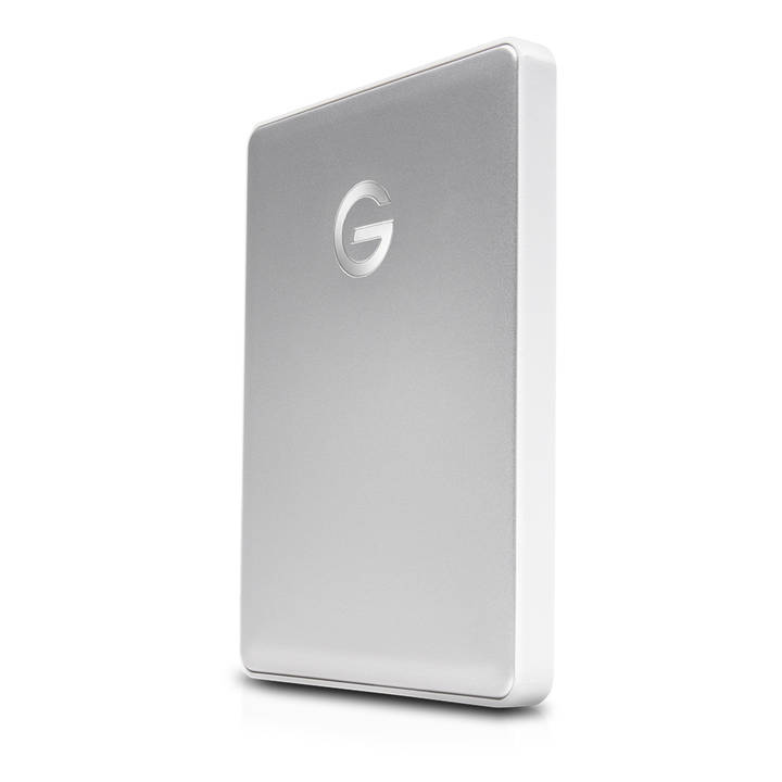 G-TECHNOLOGY G-DRIVE Mobile USB-C Extern Silver