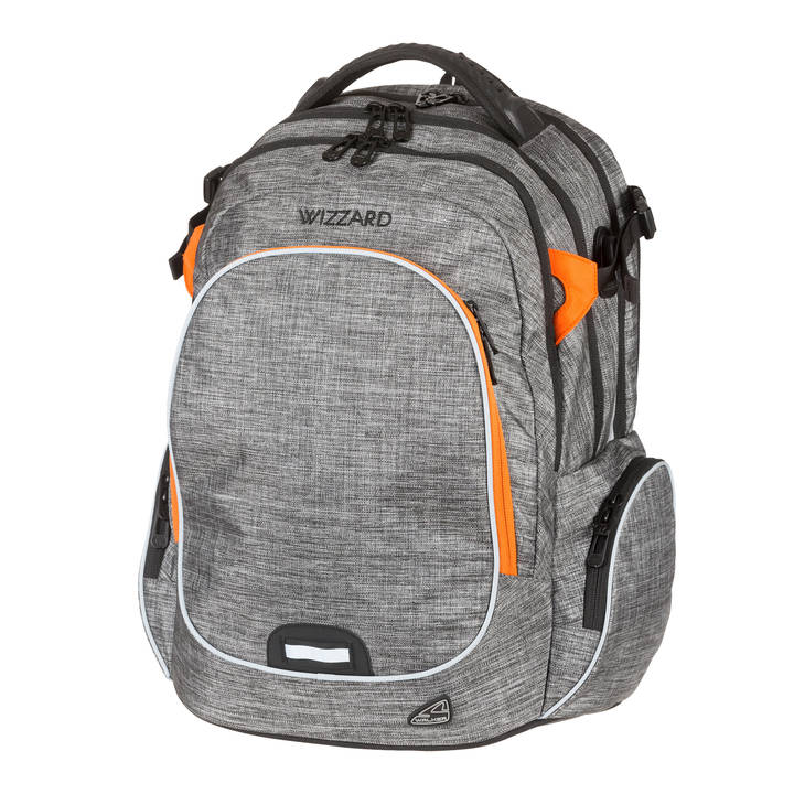 Sac à dos WALKER Campus Campus Wizzard Grey Melange